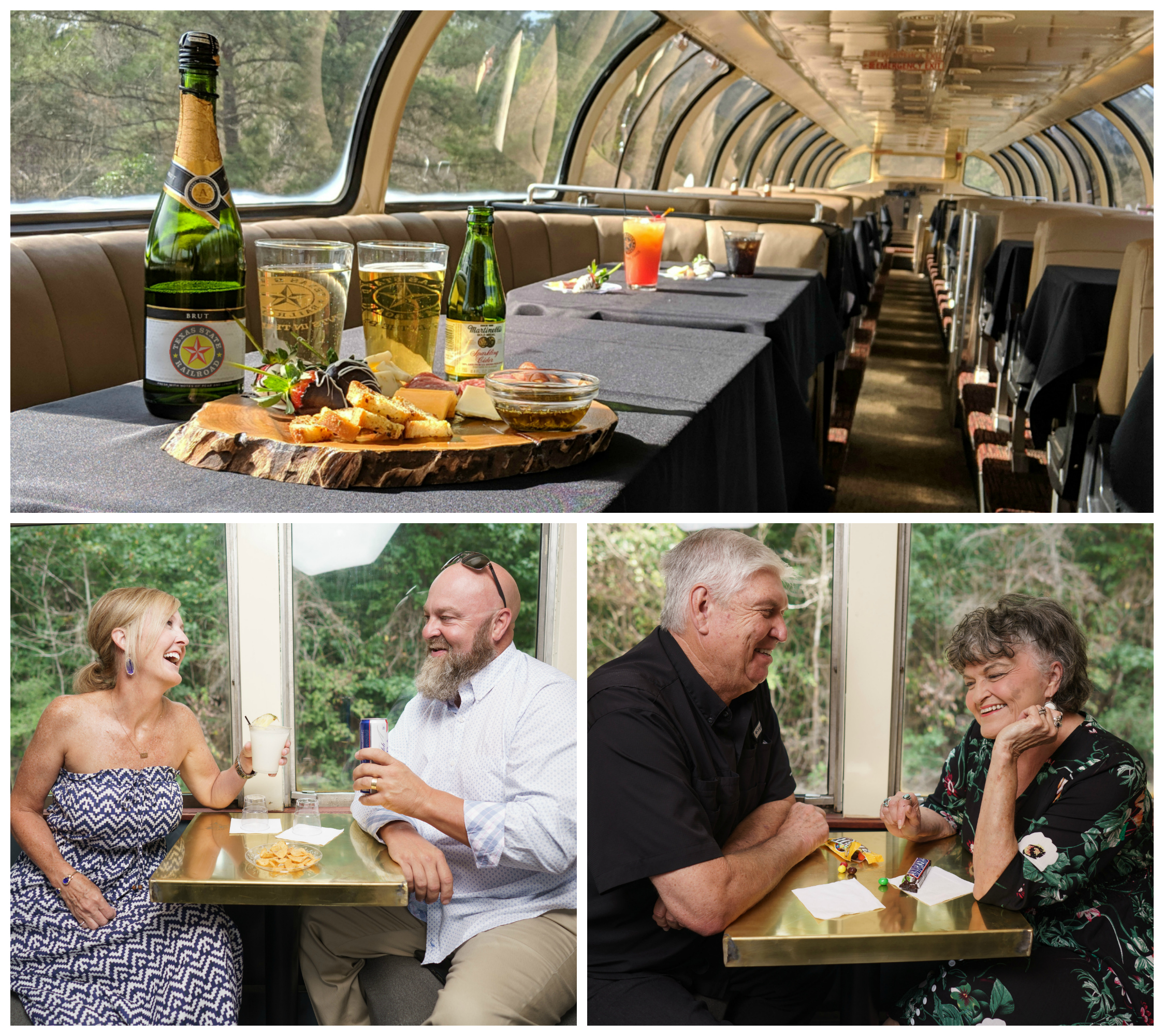 Wines and Pints in the Pines at Texas State Railroad