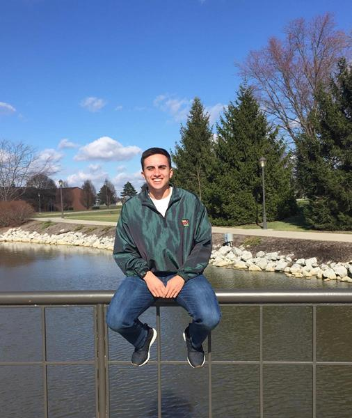 Cedarville University ROTC student Andy Arreguin will donate stem cells to save a life at the end of March.