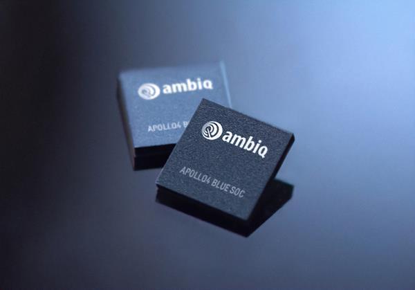 Ambiq Apollo4 Blue SoC