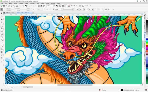 CorelDRAW Graphics Suite 2021 for Windows
