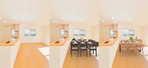 Example of AI Virtual Staging Beta
