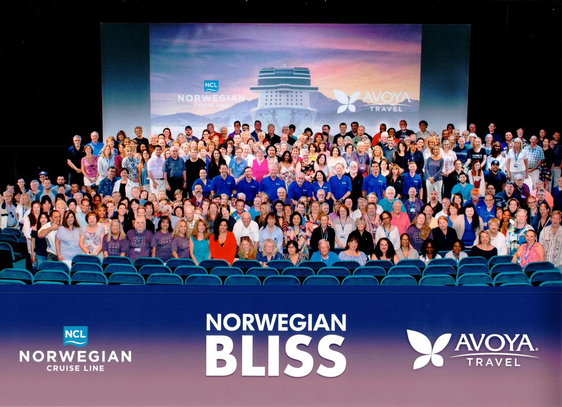 Avoya Conference Attendees Onboard Norwegian Bliss