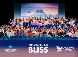Avoya Conference Attendees Onboard Norwegian Bliss