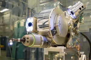 Visual Inspection Poseable Invertebrate Robot 2 (VIPIR2). Image credit: NASA Goddard