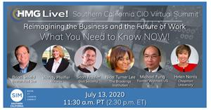 Join the top CIOs, CISOs and technology executives from Southern California and around the U.S. as they explore effective approaches to help reimagine the business and the future of work with the CEO and the executive team.
