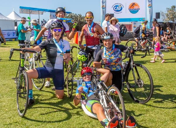 The San Diego Triathlon Challenge returns to celebrate athletes with physical challenges, reunite the community and raise millions of dollars for CAF's mission.