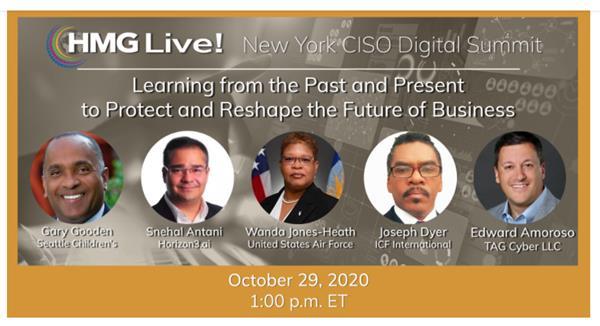 2020 HMG Live! New York CISO Executive Leadership Summit