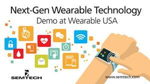 Semtech attending Wearable USA
