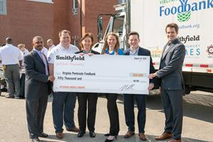 Smithfield Foods – Veterans Mobile Food Pantry