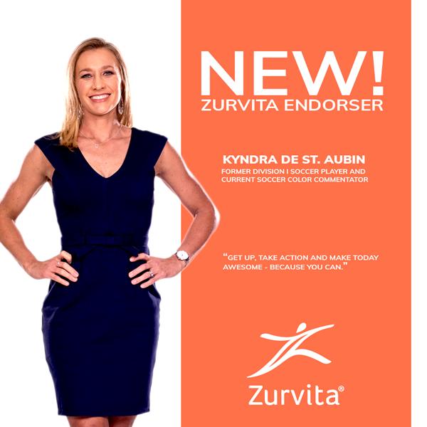 Kyndra de St. Aubin, Zurvita Endorser