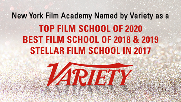 The New York Film Academy (NYFA) has been named as one of Variety's Top Film Schools for 2020, for the fourth consecutive year running.
