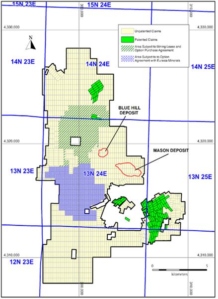 Figure 2: Mason Land Package