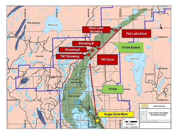 Flat Lake and TNT Zone Discovery Targets