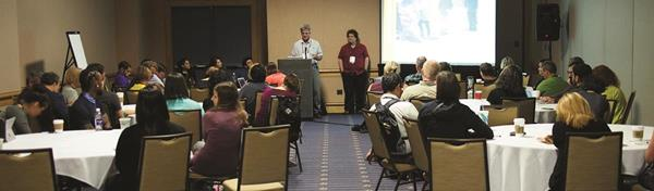More than 1,500 leaders from the world's science centers and museums participate in a variety of sessions, workshops, and events to expand their knowledge and share ideas about community engagement and outreach, education and programming, exhibits and environments, and more during the ASTC Annual Conference.