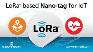 Semtech's LoRa-enabled Tag