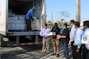 Smithfield Foods Helping Hungry Homes – Daytona Beach, FL