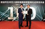 ITRI Named a Derwent Top 100 Global Innovator for Fourth Time