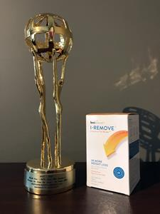 I-REMOVE Named Best New Health Care–OTC Product
