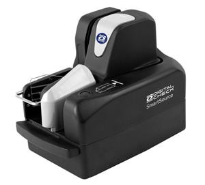 "The SmartSource Expert Elite scanner now features all the same enhancements as the rest of the Elite Series lineup - including automatic cleaning mode, front-feed ID card capture, 600 dpi color image sensors, and a ""SMART"" LED status indicator light and action button."