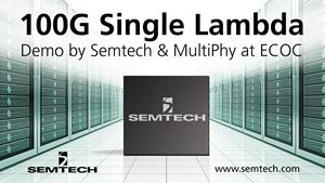 Semtech and MultiPhy Demo at ECOC 2017
