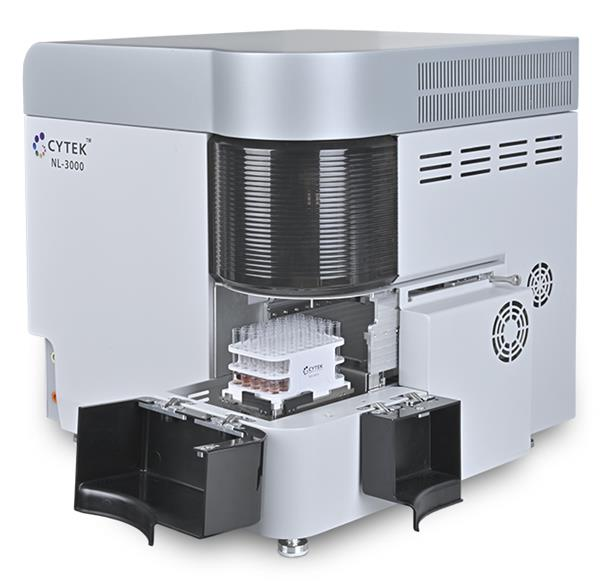 Cytek Automated Sample Loader connected to Northern Lights