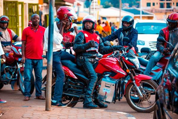 African E-Motorcycle