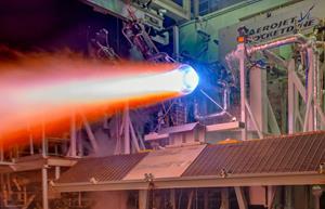 Aerojet Rocketdyne 3-D Printed RL10 Thrust Chamber Testing 2018