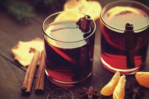 Cinnamon Mulled Sangria