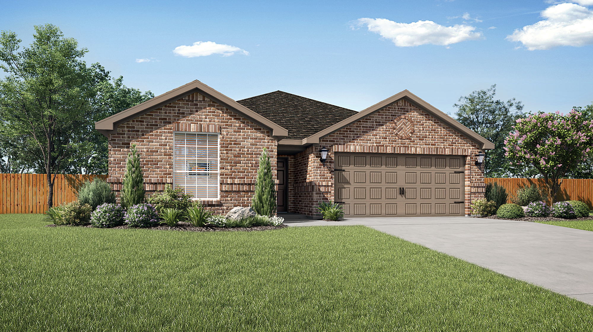 The Sabine plan at Pinewood Trails by LGI Homes
