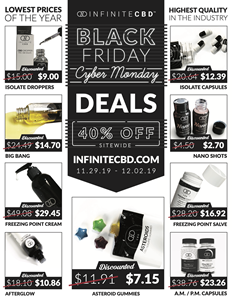 40 Off Cbd Products Black Friday And Cyber Monday Sale Offer The Lowest Prices Of The Year