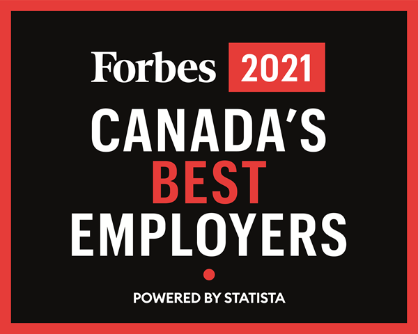 LifeLabs Recognized on Forbes Canada's Best Employers 2021 List