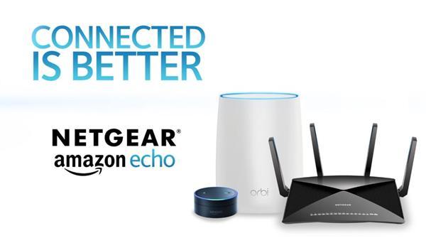 NETGEAR Skills for Amazon Alex