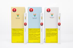 Ace Valley vapes are available in CBD, Sativa and Indica and produced by MediPharm Labs using high-quality distillate.