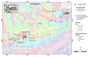 Fig 2 Plan Map of Deerfoot Trend