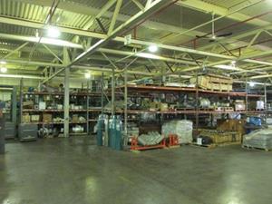Steam Plant Warehouse Liquidation