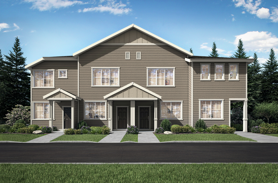 Harts Crossing townhomes by LGI Homes now for sale in Portland, Oregon.