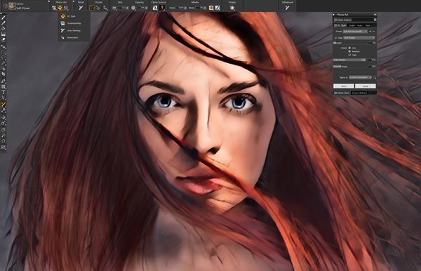 Painter 2021 AI Art Styles