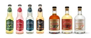 """Beckett's """"Low No Alcohol"""" Spirits and Cocktails, all at less than 0.3% ABV, are now available for wholesale orders throughout Alberta, Canada via Connect Logistics' Liquor Connect platform."""