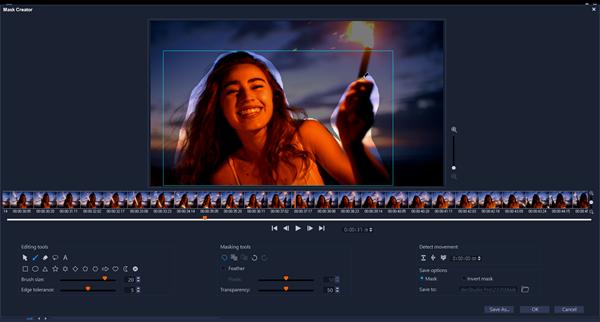 VideoStudio Ultimate 2020 - Mask Creator