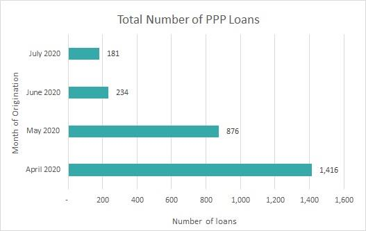 Total Number of PPP Loans