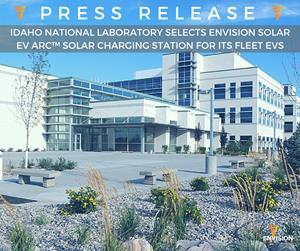 Idaho National Lab Selects EV ARC™ Unit