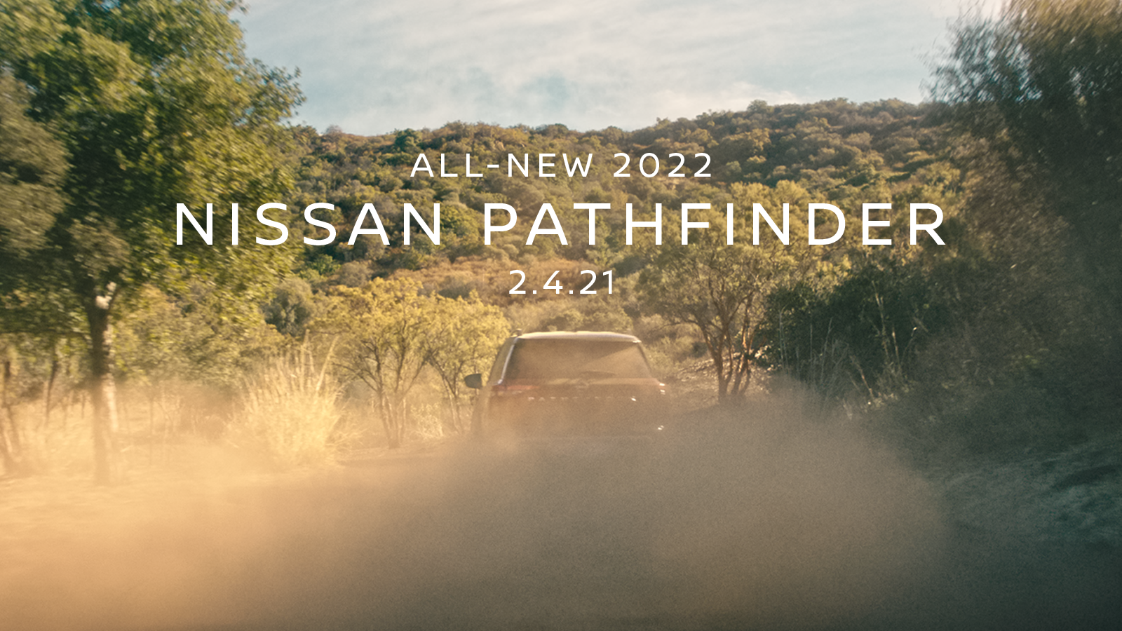 All-new 2022 Nissan Pathfinder Teaser