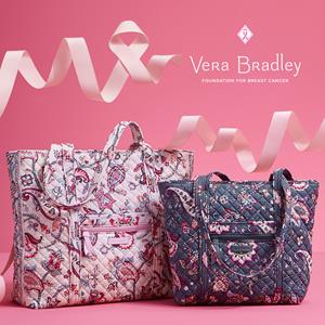 For National Breast Cancer Awareness Month, Vera Bradley has launched a campaign aimed at raising awareness about breast cancer, honoring the many women who have bravely battled this disease, and raising funds for the Vera Bradley Foundation for Breast Cancer. Since 1993, Vera Bradley employees, business partners, customers and friends have joined together to raise more than $34.6 million for critical breast cancer research.