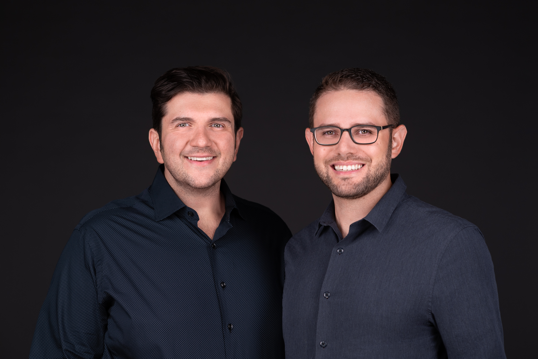 Kosta Ligris and Josh Feinblum, co-founders of Stavvy