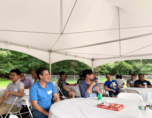 Bendheim's first Employee Day brought together more than employees for lunch, games, and raffles.
