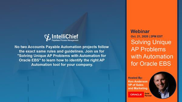 Solving Unique AP Problems With Automation for Oracle EBS