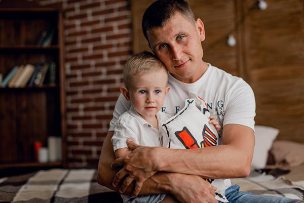 Family that utilized RMHC Ukraine while their child received medical treatment.