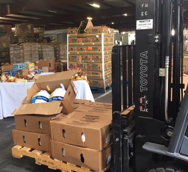 Foster Farms Thanksgiving Turkey Donations
