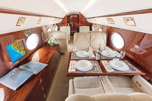 Silver Air GV Business Amenities