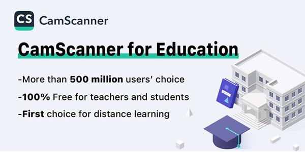 CamScanner for Education English